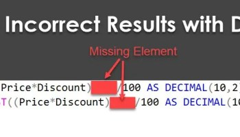 SQL SERVER - A Puzzle - Swap Value of Column Without Case Statement puzzledecimal4