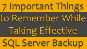 SQL SERVER - Backup Timeline and Understanding of Database Restore Process in Full Recovery Model 7backups