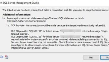 MySQL - Connection Error - [MySQL][ODBC 5.3(w) Driver]Host 'IP' is Not Allowed to Connect to this MySQL Server link-error-01