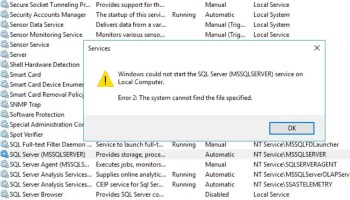 SQL SERVER - GetRegKeyAccessMask : Could Not Get Registry Access Mask For Registry Key - SQL Server Cluster sql-startup-err02-01