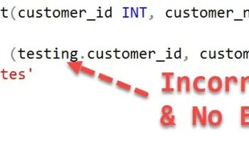 SQL SERVER - Puzzle - Strange Behavior With Extra Comma in Create Table Statement incorrectalias