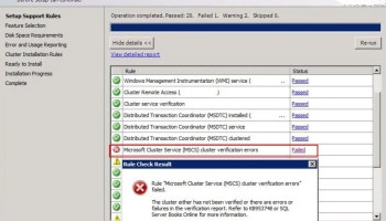 SQL SERVER - Install Error: Microsoft Cluster Service (MSCS) Cluster Verification Errors - Part 3 clus-facet-p2-01