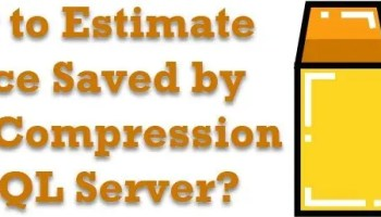 SQL SERVER - 2008 - Interview Questions and Answers - Part 8 datacompression