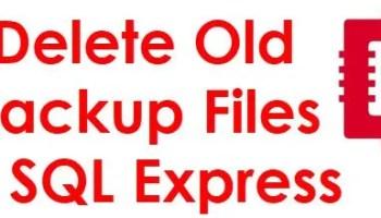 PowerShell Script - Backup Every Database In SQL Server deletebackup