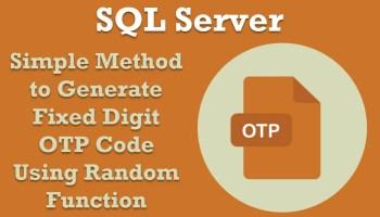 SQL SERVER - Random Number Generator Script - SQL Query - SQL