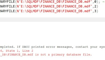 SQL SERVER - Database Attach Failure - Msg 2571 - User 'guest' Does Not Have Permission to Run DBCC Checkprimaryfile. ran-01
