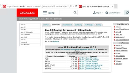 download java jre 7u51 32 bit