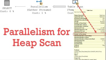 SQL SERVER - COUNT(*) and Index Used - Part 2 heapscanparallel