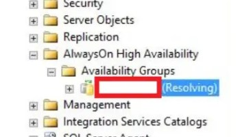 SQL SERVER - Event ID 1069 - Unable to Failover Clustered Instance