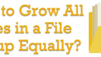 SQL Server 2016 - Introducing AutoGrow and Mixed_Page_Allocations Options - TraceFlags growfiles