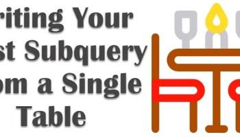 SQL SERVER - How to Write Correlated Subquery? subquery