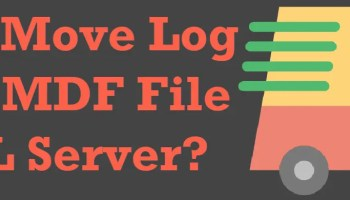 SQL SERVER - T-SQL Script to Attach and Detach Database movefiles