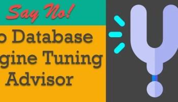 Video - Database Performance Analyzer - Table Tuning Advisors dta