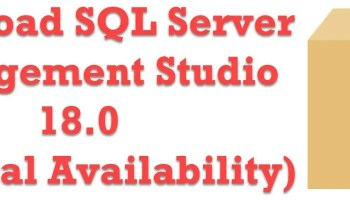 SQLAuthority News - Download SQL Server 2017 ssms18
