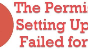 SQL SERVER - Setup / Installation Error - Updating Permission Setting for File ResumeKeyFilter.Store Failed REBUILDDATABASE