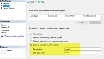 SQL SERVER - Transfer Logins Error: Msg 15419: Supplied Parameter sid Should be Binary(16) - sp_help_revlogin link-srv-err2-04