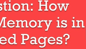 SQL SEVER - Finding Memory Pressure - External and Internal lockedpages