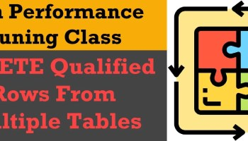 SQL SERVER - DELETE Qualified Rows From Multiple Tables - Part 2 del-puz0
