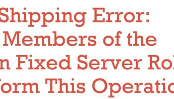 SQL SERVER - What is WRK file in Log Shipping? log-shipping-error