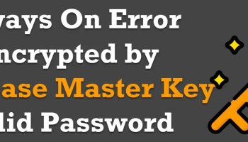 """SQL SERVER - Error 15580 - Cannot Drop Master Key Because Dialog """"GUID"""" is Encrypted by It database-master-key"""