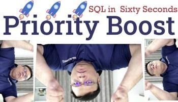 SQL SERVER - Boost SQL Server Priority and SSMS 18 131-PriorityBoost-yt