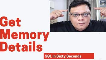 Wait Stats for Performance - SQL in Sixty Seconds #157 165-MemoryTalk-yt