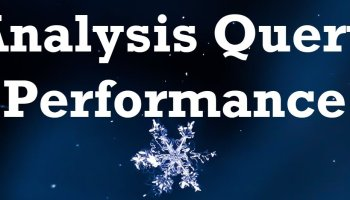 SQL Extensibility Features with Snowflake AnalysisQueryPerformance
