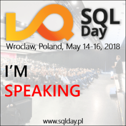 SQLDay - I am speaking