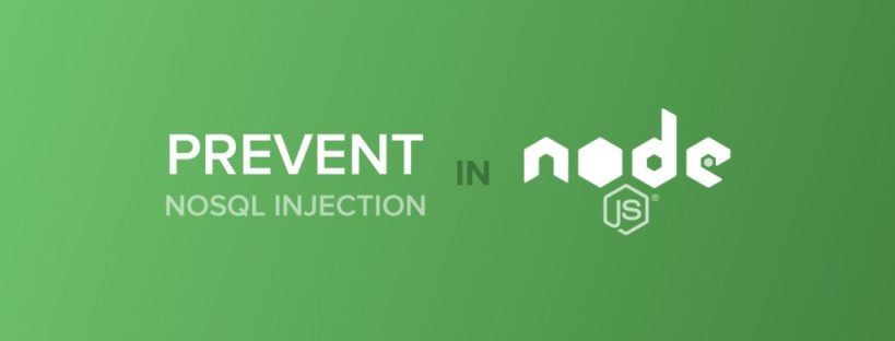How to avoid NoSQL injections in MongoDB in a Node.js app