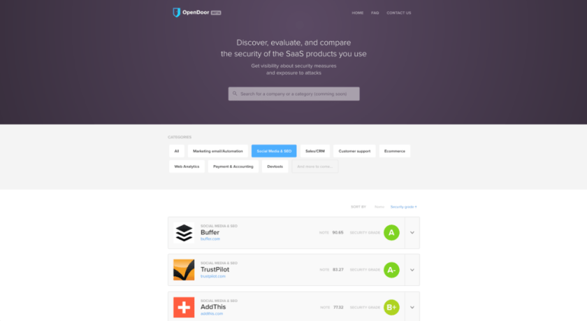 OpenDoor: How secure are the SaaS tools you use