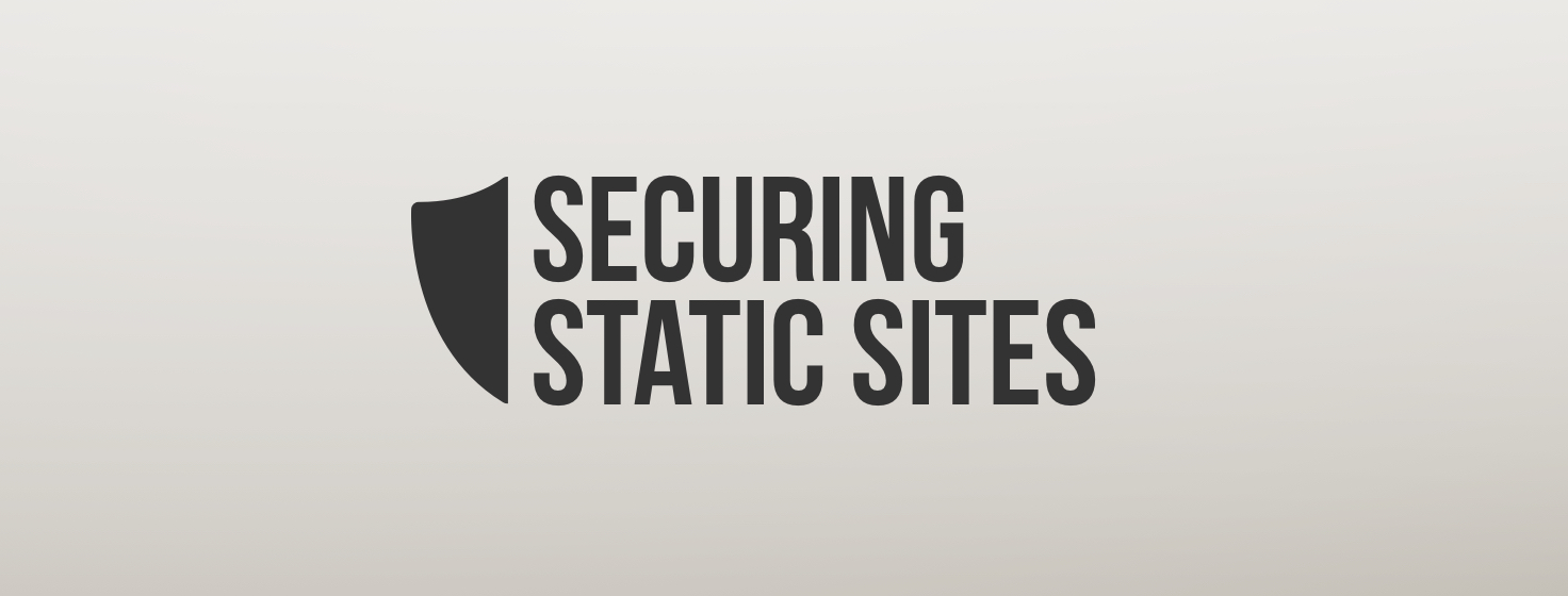 Security for Static Websites - Sqreen Blog
