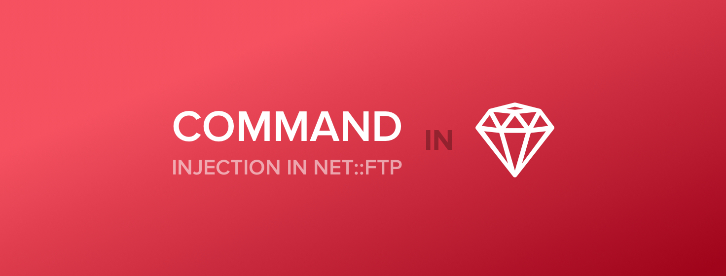 Protecting against the command injection vulnerability in