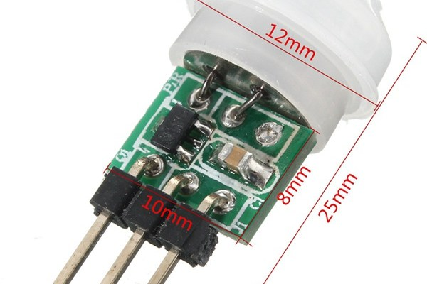 ESP8266 Peripherals: Mini PIR Motion Sensor - Squix - TechBlog