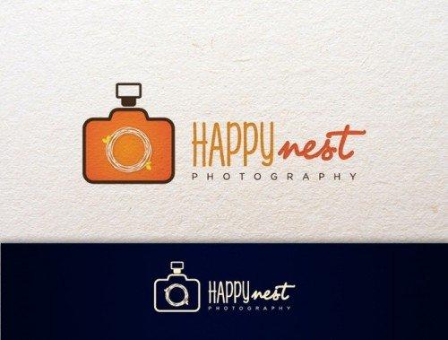 yorraoliviaa - logo design for happynest