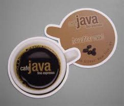 Cafe Java Business Card