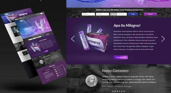 contoh desain responsif