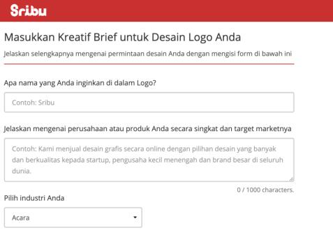 contoh brief untuk freelancer design grafis