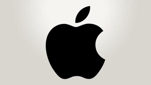 logo apple monokrom