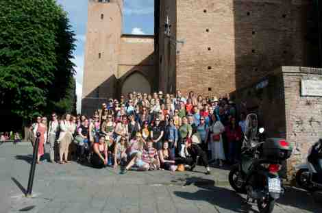 Siena Field Trip Group Photo