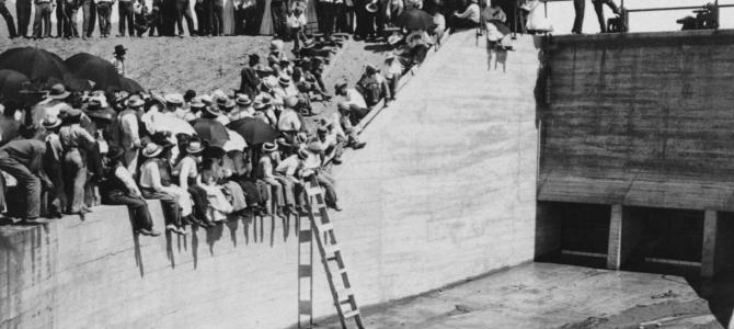 Granite Reef Diversion Dam, a look back at the 1908 dedication