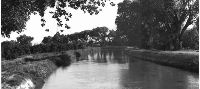 A look back: Arizona Canal