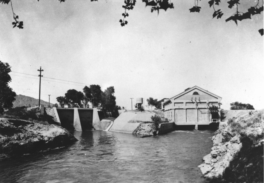 history of SRP canals- Arizona Falls