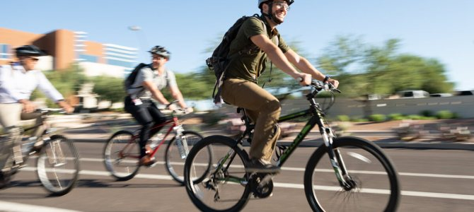 A blissful ride to work: One SRP employee shares why he enjoys making a sustainable commute