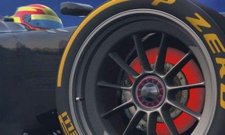 Fórmula 1 testa novos pneus e rodas de 18 polegadas