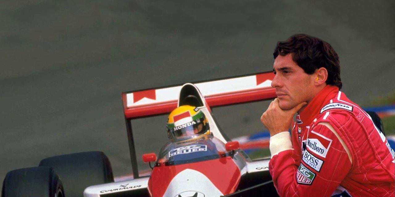 Ayrton Senna homenageado na página inicial do Google