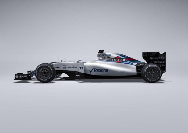 January 2015 The Williams FW37 Photo: Williams F1  ref: Digital Image FW37_1