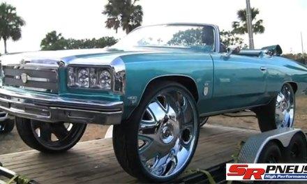 Chevrolet Caprise com roda 32″ é sensação nos EUA