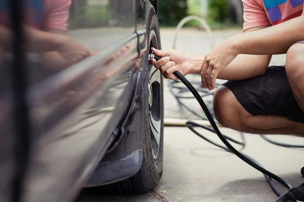 Calibragem correta do pneu