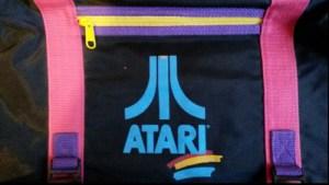 l'avant du cartable Atari collection