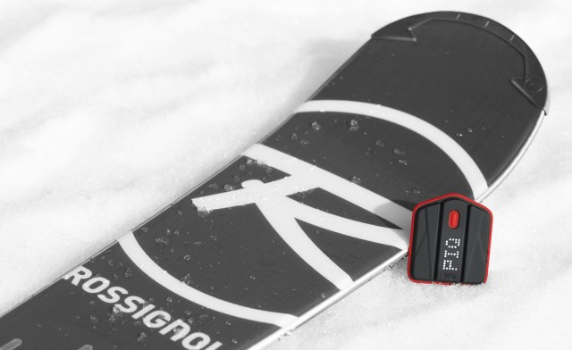 The PIQ on a snowboard